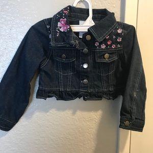 Toddler girls jean jacket